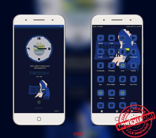 Download Tema Xiaomi Persib Mtz Maung Bandung Paling Keren By Ghy Almachzumi