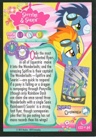 My Little Pony The Wonderbolts Series 1 Trading Card