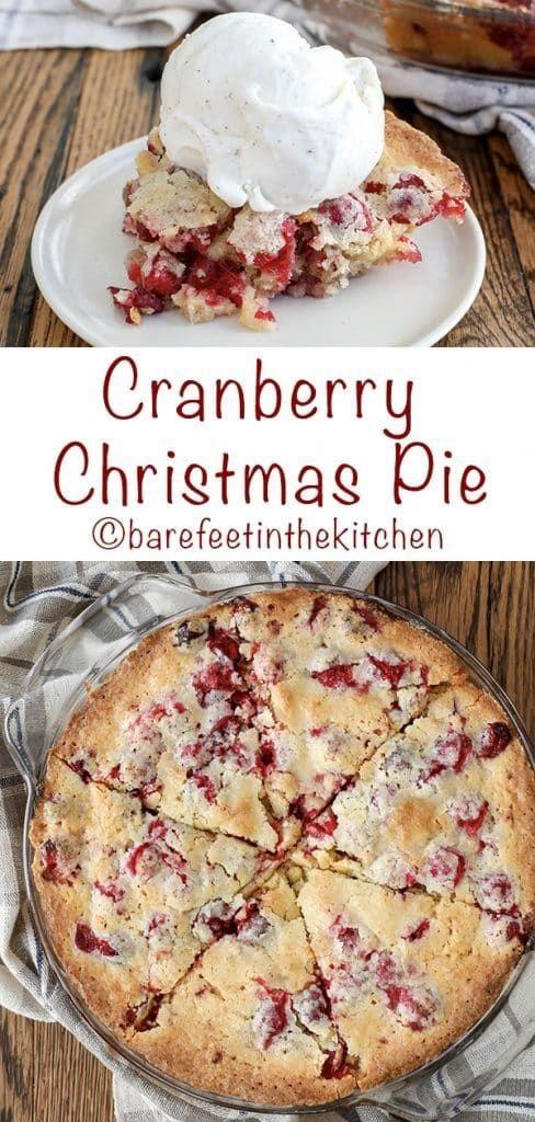 Nantucket Christmas Cranberry Pie