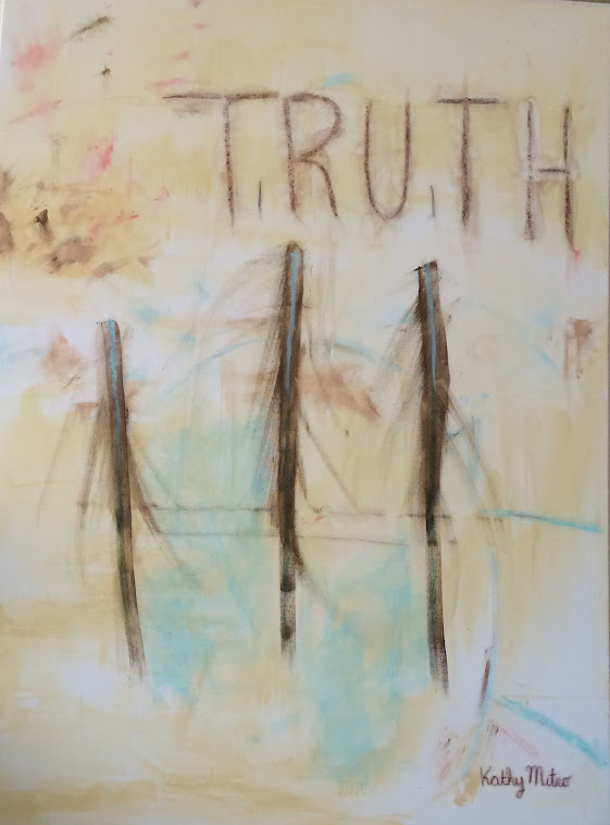 "Truth The Physical Embodiment of Divine Reality 36"" by 48"""