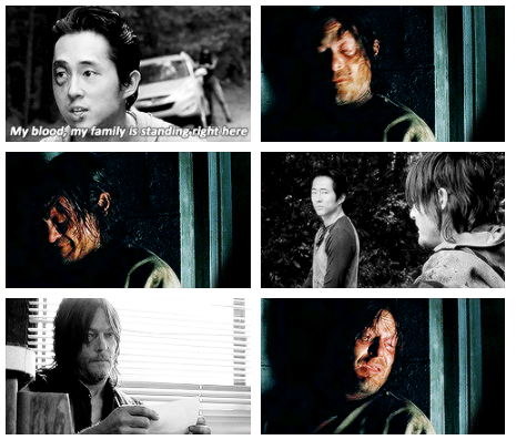 Glenn Daryl The Walking Dead