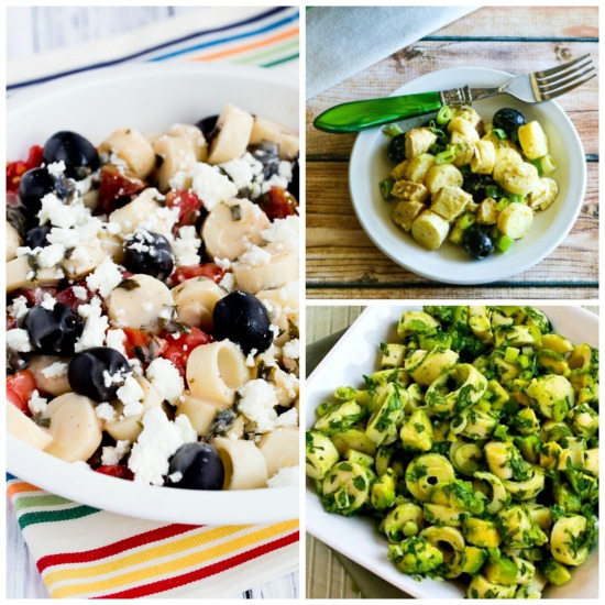 My Favorite Low-Carb Salads with Hearts of Palm featured for Low-Carb Recipe Love on KalynsKitchen.com