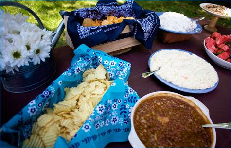 western style food
