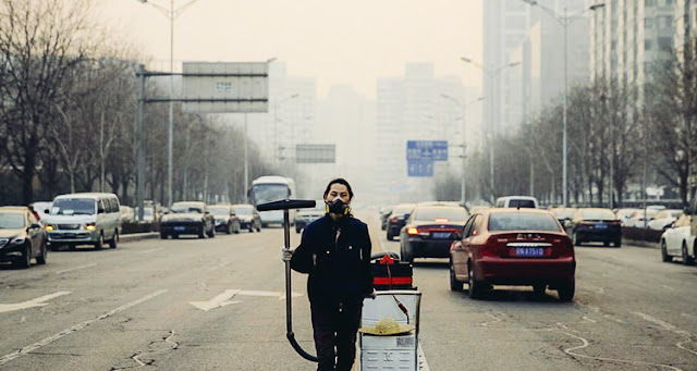 Chinese Activist Vacuums Beijing's Air For 100 Days Then Makes A Brick With The Pollution