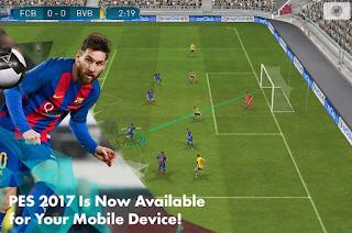 PES 2017 Pro Evolution Soccer Mod Apk