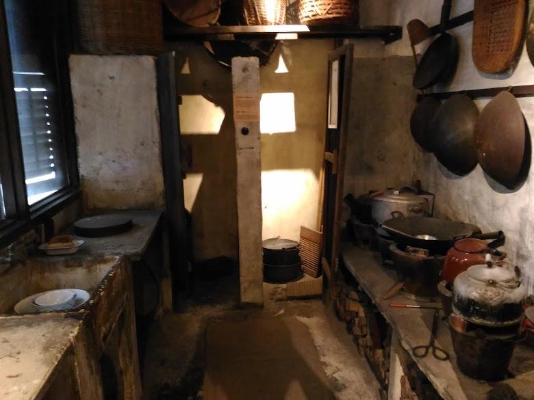 早期移民共用廚房以及廁所