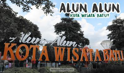 Alun alun kota wisata Batu Malang Bianglala Wisata Liburan