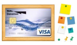 Design kartu kredit danamon classic
