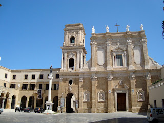 The Duomo at Brindisi, rebuilt after 1743 earthquake