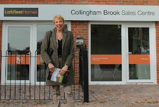Lynda Clark at Collingham Brook