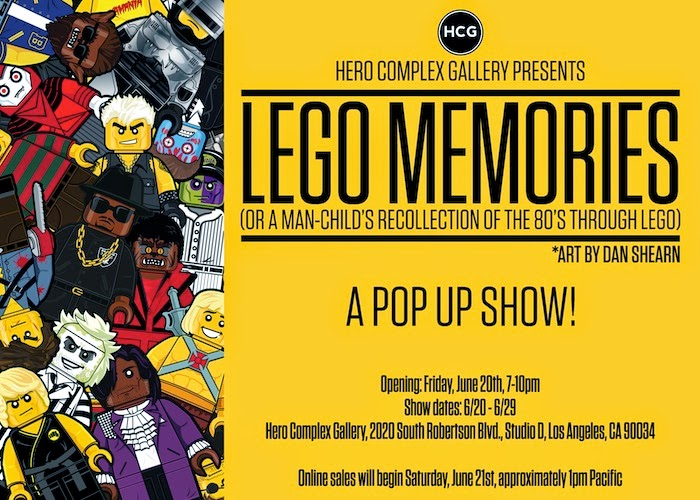 Hero Complex Gallery - LEGO Memories