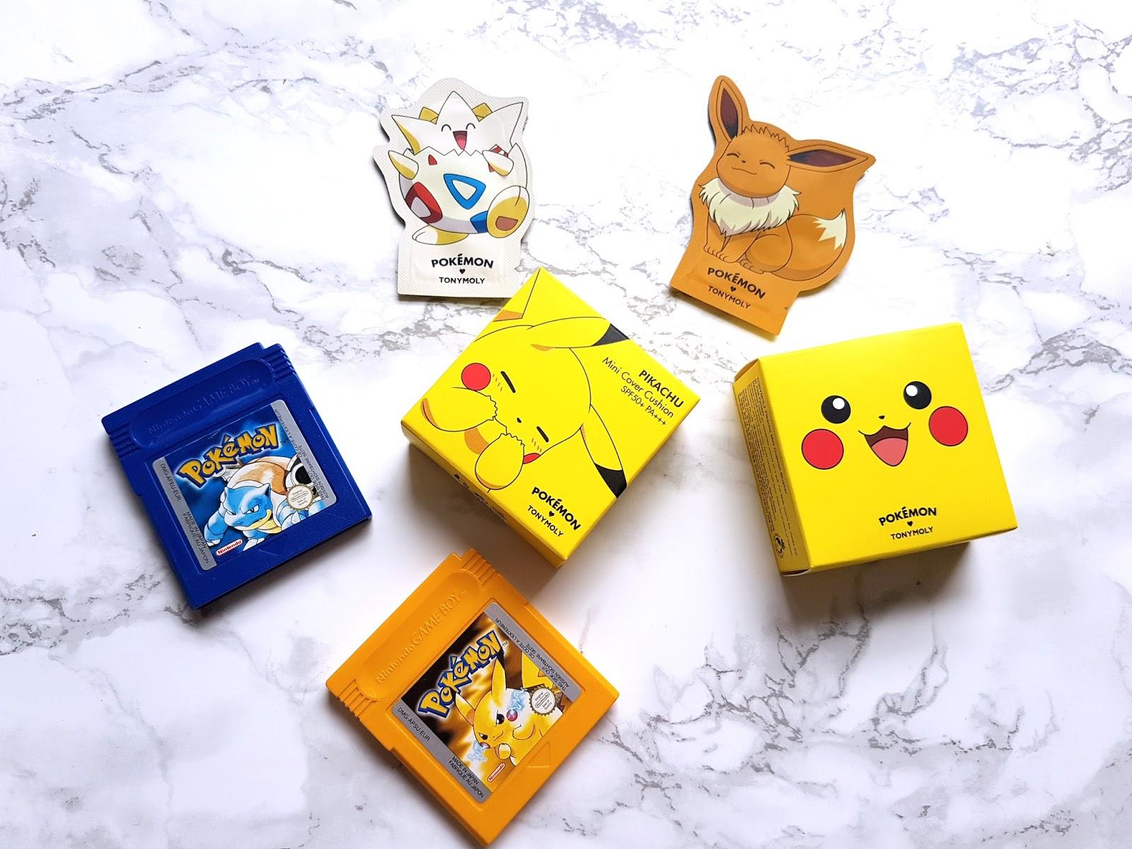 Tony Moly Pokemon Makeup