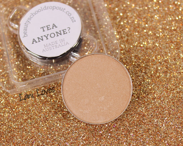 Beauty School Dropout Eyeshadow - Tea Anyone? Swatches & Review