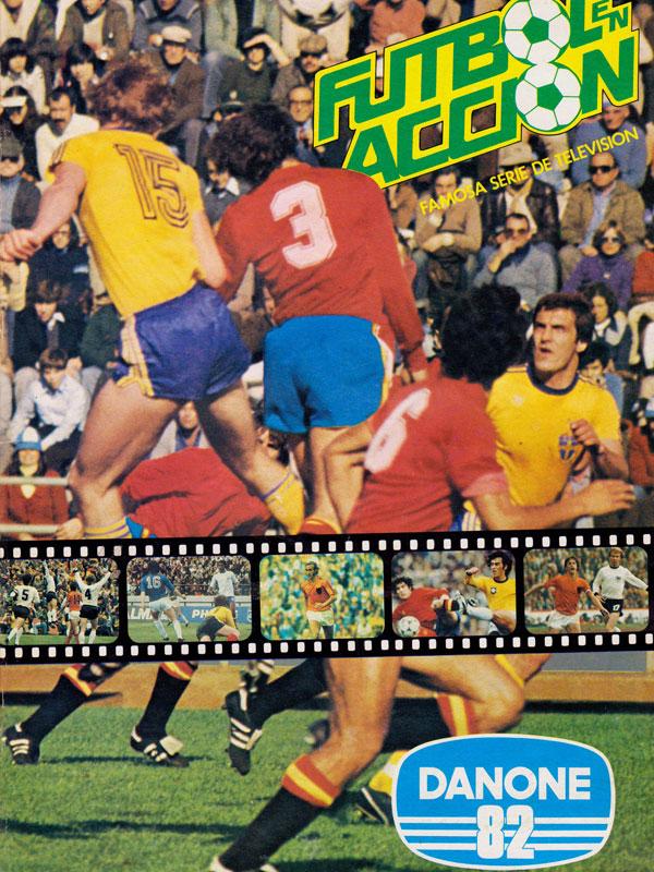 Album cromos Danone Fútbol en acción