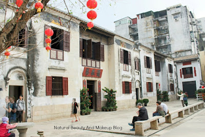 The typical chinese style house of Mandarin's, at Lilau Sqaure, Macau