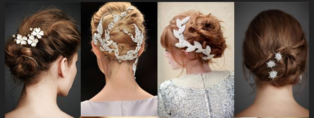bridal hairstyles for medium hair photo