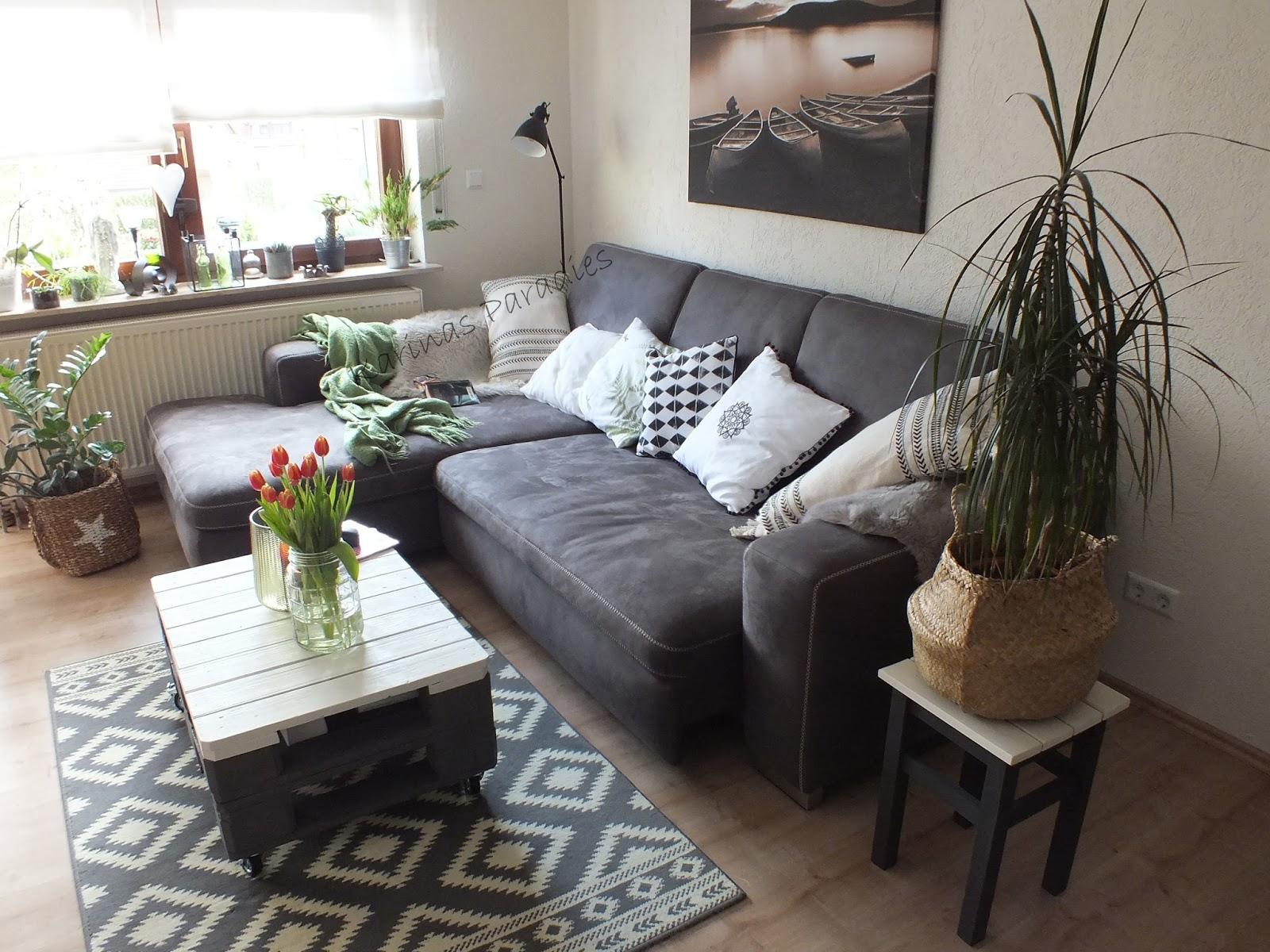 Karinas Paradies Einblicke Ins Ess Und Wohnzimmer