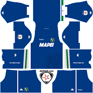 US Sassuolo Calcio 2018 - 2019 GK Away Kit