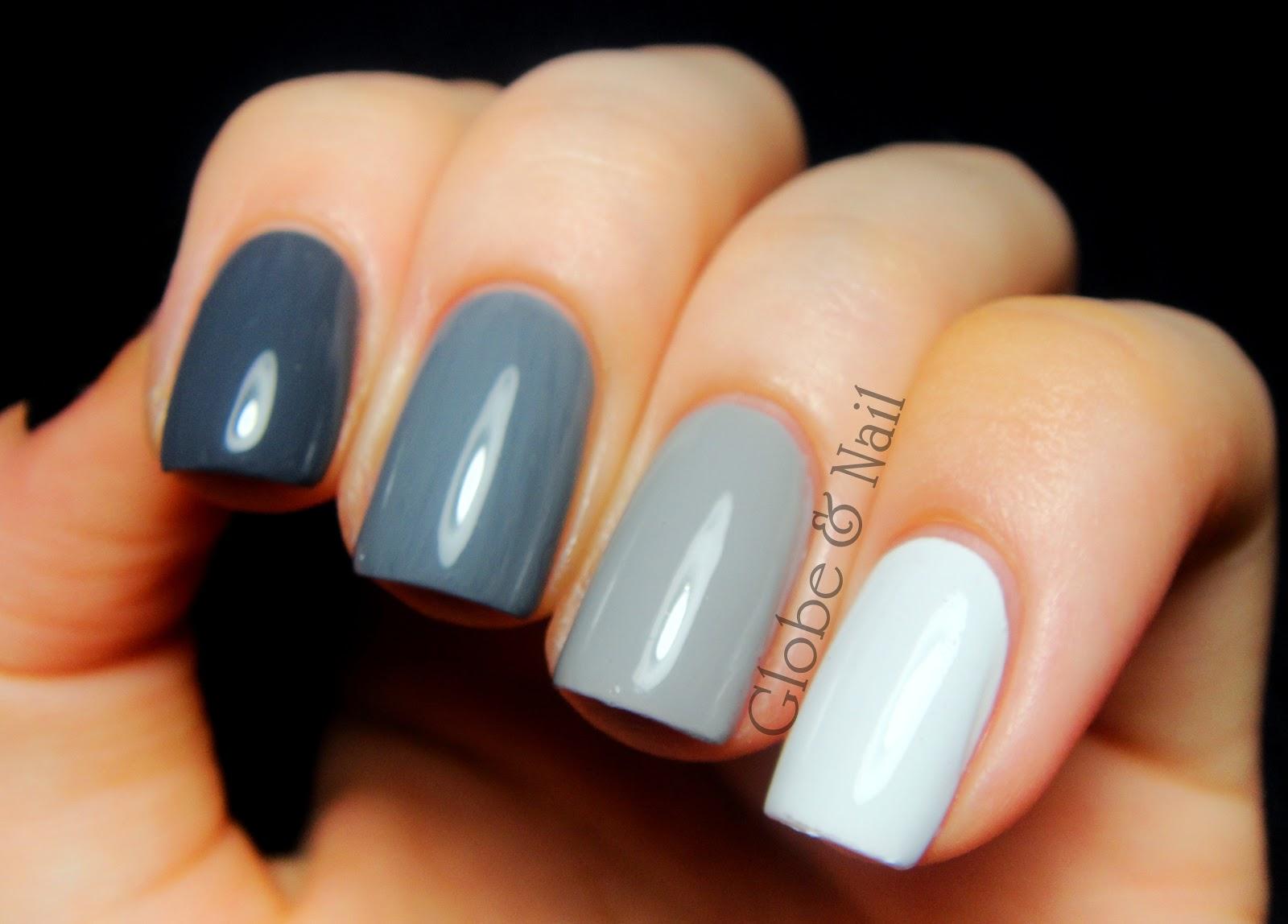 Globe & Nail: Grey Ombré