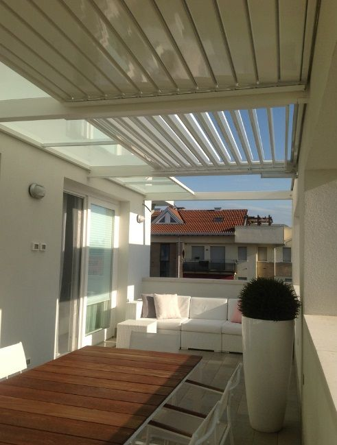 Arredamento e dintorni coperture per terrazze e balconi for Arredamento balconi e terrazze