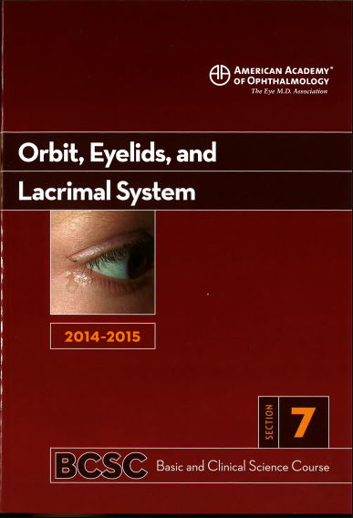 [AAO 2014-2015] Section 7 Orbit Eyelids and Lacrima System [PDF]