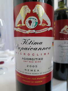 Papaioannou Microclima 2005 - PDO Nemea, Greece (91 pts)