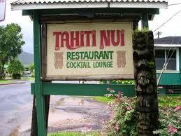 Kauai Tahiti Nui Restaurant