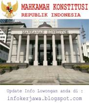 Lowongan Kerja Non CPNS Mahkamah Konstitusi (MK)