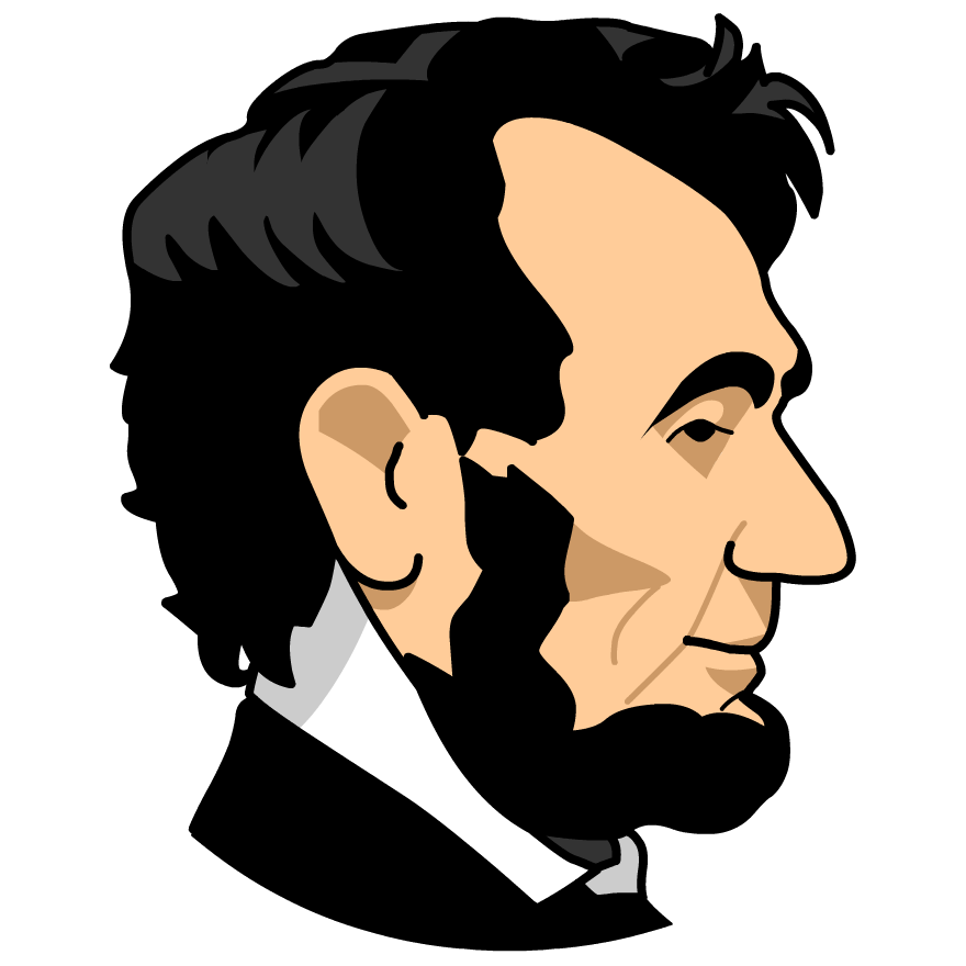 goodly abe lincoln storyteller rh blog themightycopywriter com abraham lincoln clip art pictures abe lincoln silhouette clip art free