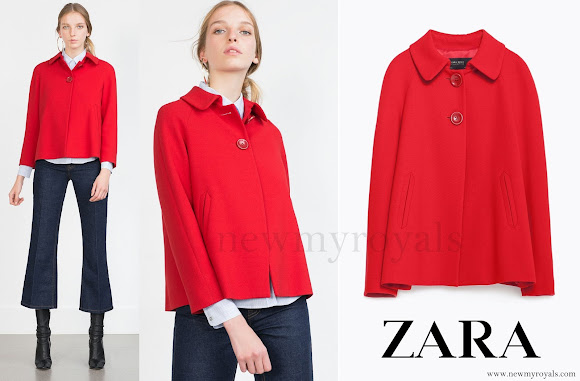 Kate Middleton wore a red Zara Blazer