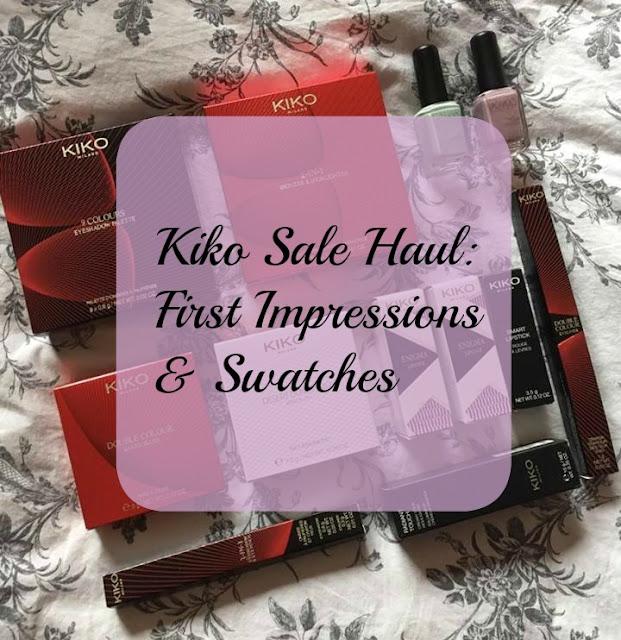 Kiko Sale Haul: First Impressions & Swatches