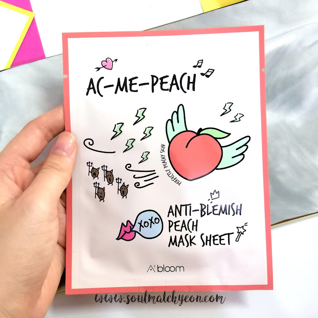 A'Bloom's Refreshing Skin Mask Pack (Peach)