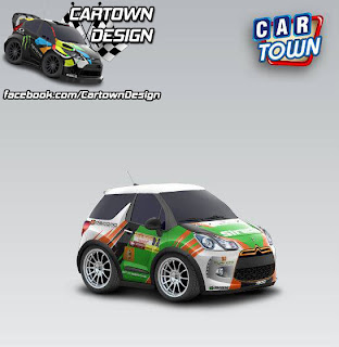 Citroen DS3 Racing 2010 RRC Tsjoen