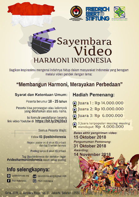 Sayembara Video Harmony Indonesia 2018