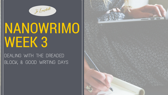 #NaNoWriMo2016: Week 3