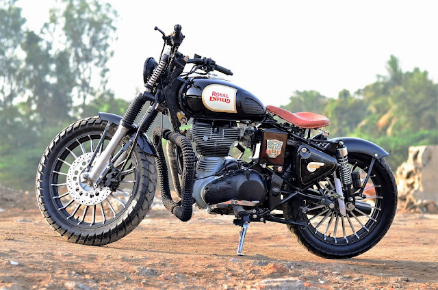 Modified Royal Enfield Classic 350
