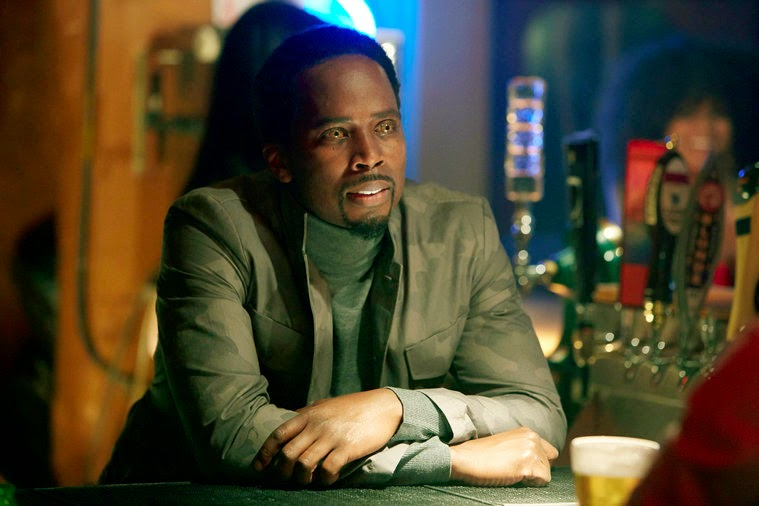 Harold Perrineau as Manny Constantine guardian angel  in NBC Constantine Season 1 Pilot Episode Non Est Asylum