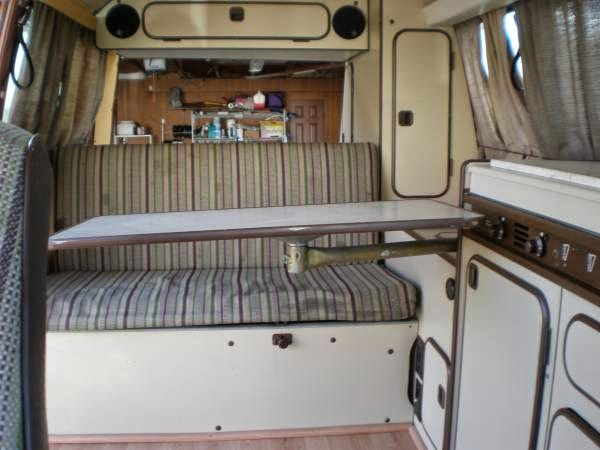 Used rvs vw vanagon westfalia camper van for sale by owner for Interior westfalia