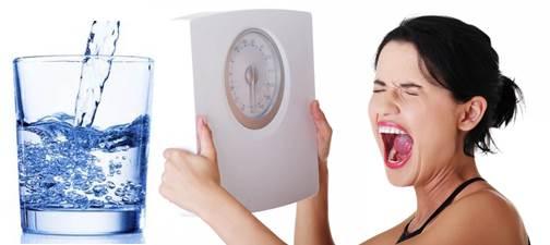 El agua puede ayudarte a bajar de peso