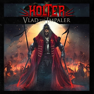 "Το τραγούδι των Holter ""Worlds On Fire"" από το album ""Vlad the Impaler"""