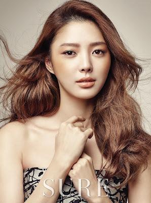 Uhm Hyun Kyung - Sure Magazine February Issue 2016