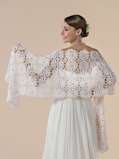 Crochet Shawl patterns for Weddings