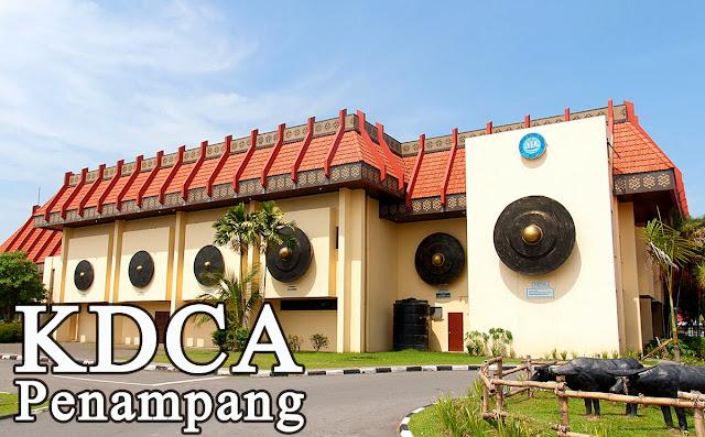 Penampang KDCA building