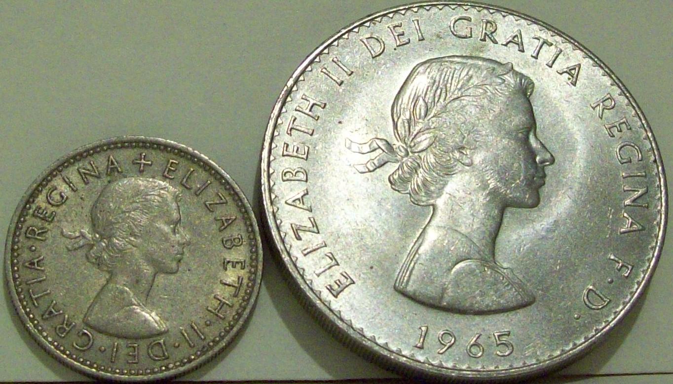 My Coin Box 1965 British Churchill Crown