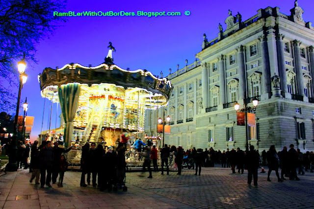 Carousel, Royal Palace of Madrid, Madrid, Spain