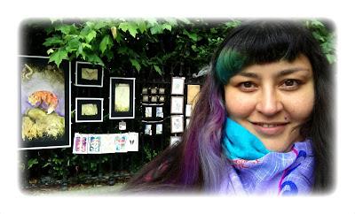tHE 33ZTH oRDER - Elizabeth Casua at People's Art 2017, Watercolour Artwork