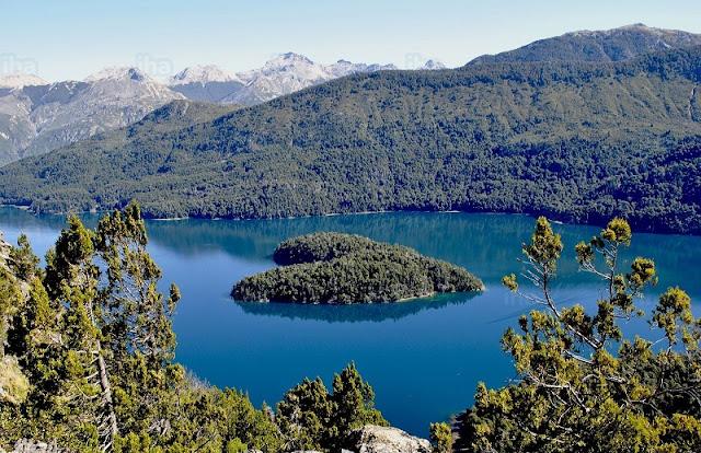 Como é o Lago Mascardi