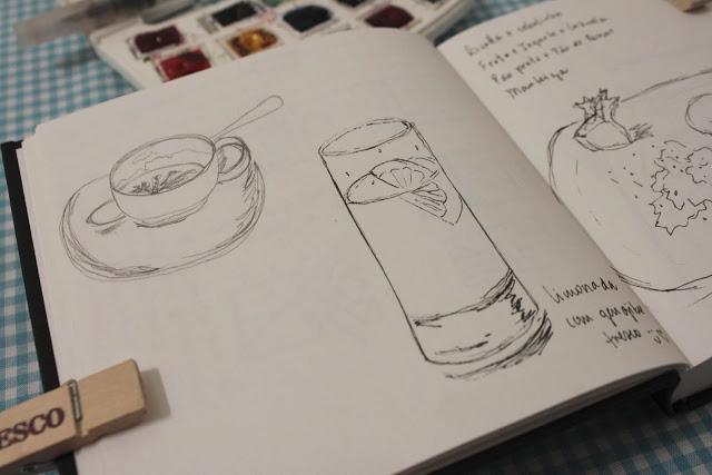 Inspiracoes Para Comecar Um Sketchbook Meu Conto De Fada