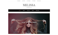 Download Premium Theme Beautytemplates Melissa Blogspot Template Gratis Responsive