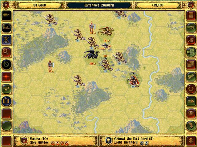 Grimal the Rat Lord Boss | Fantasy General Screenshot